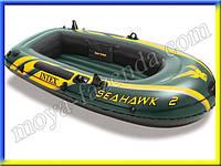 Лодка для двоих (весла и насос в комплекте), фото 1