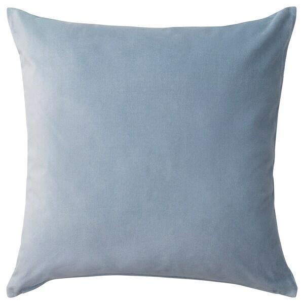 Чехол на подушку IKEA SANELA голубой 50x50 см 304.717.39