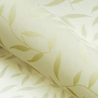 Красиві рулонні штори на вікна листочки колір Бежевий