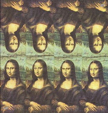 Декупажные салфетки Мона Лиза 2611