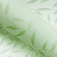 Красивые рулонные шторы на окна листики цвет Зелёный