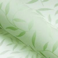 Красивые рулонные шторы на окна листики цвет Зелёный, фото 1