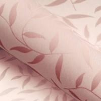 Красивые рулонные шторы на окна листики цвет Розовый