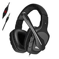 Навушники накладні провідні з мікрофоном Somic A1 Black (9590010365)