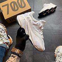 Кроссовки женские  Adidas Yeezy Boost 700 V2 White, фото 1