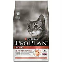 Сухой корм для кошек Лосось Рис Pro Plan ADULT SALMON&RICE 10 кг