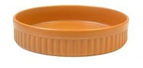 Форма для выпечки 24 см круглая Теракота керамика 24228