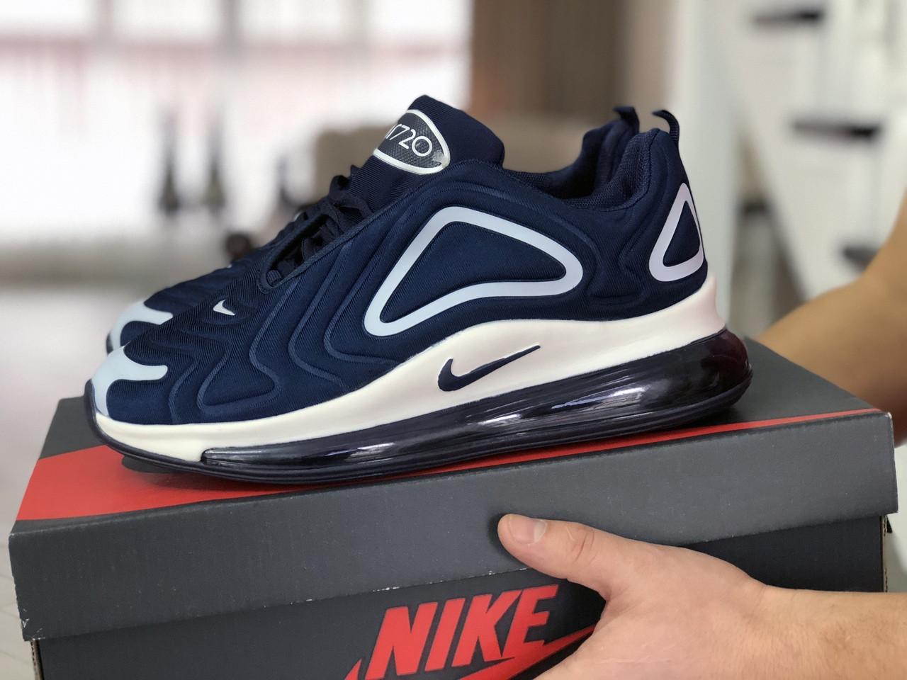 Чоловічі кросівки Nike Air Max 720 (синьо-білі)