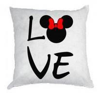 Подушка с принтом на заказ для влюбленых