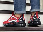 Чоловічі кросівки Nike Air Max 720 (червоні), фото 3