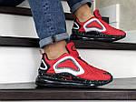 Чоловічі кросівки Nike Air Max 720 (червоні), фото 4