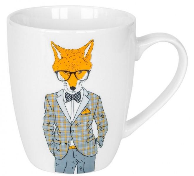 """Чашка """"Модні звірі - Містер Лис"""" 360 мл KERAMIA 21-272-072"""