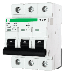 Автоматический выключатель АВ2000 3Р C50А 6кА PF