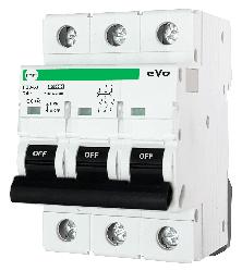 Автоматический выключатель АВ2000 3Р C63А 6кА PF