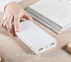 Внешний аккумулятор Xiaomi  Mi Power Bank 20000 mAh портативное зарядное устройство, фото 3