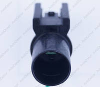 Разъем автомобильный 1-pin/контактный. Папа. 15×15 mm. Б.У
