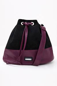 Женская сумка из замши и экокожи (3945-3943-3944 svt)