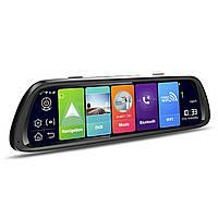 "Зеркало видеорегистратор навигатор 10.7"" Lesko Car D30 GPS 4G ADAS Wi Fi Bluetooth"