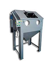 Эжекционный пескоструй (каретка, поворотный стол) 1200х1000х800 | Пескоструйная камера PsTech, фото 2