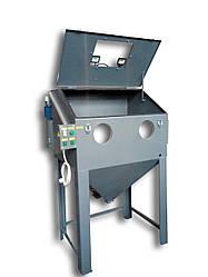 Эжекционный пескоструй (каретка, поворотный стол) 1200х1000х800 | Пескоструйная камера PsTech