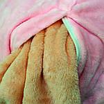 Плед мягкая игрушка 3 в 1  Слоник розовый  (05), фото 3