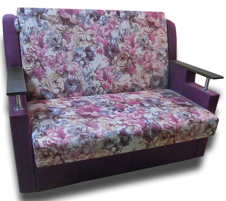 Диван - кровать Марта (Дейзи Фиолет) 130 Детский диван с нишей для белья