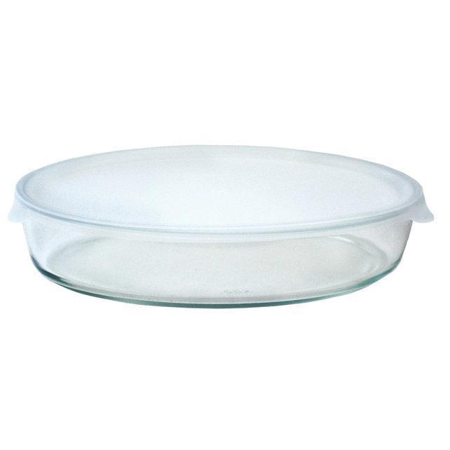 Форма для запікання з пластиковою кришкою на 2,4 л Martex 32-121-020