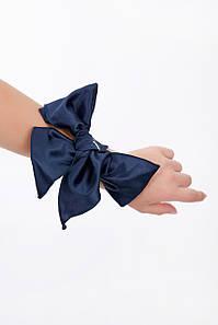 Жіночий атласний хусточка (3941-3940-3242 svt) Синій
