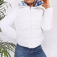 Короткая женская двухсторонняя куртка