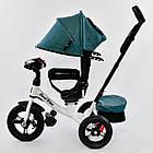 ⏩ Велосипед детский трехколесный Best Trike 7700В - 6980 изумрудный, фото 2