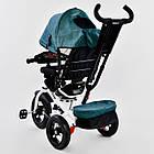⏩ Велосипед детский трехколесный Best Trike 7700В - 6980 изумрудный, фото 4