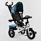 ⏩ Велосипед детский трехколесный Best Trike 7700В - 6980 изумрудный, фото 3