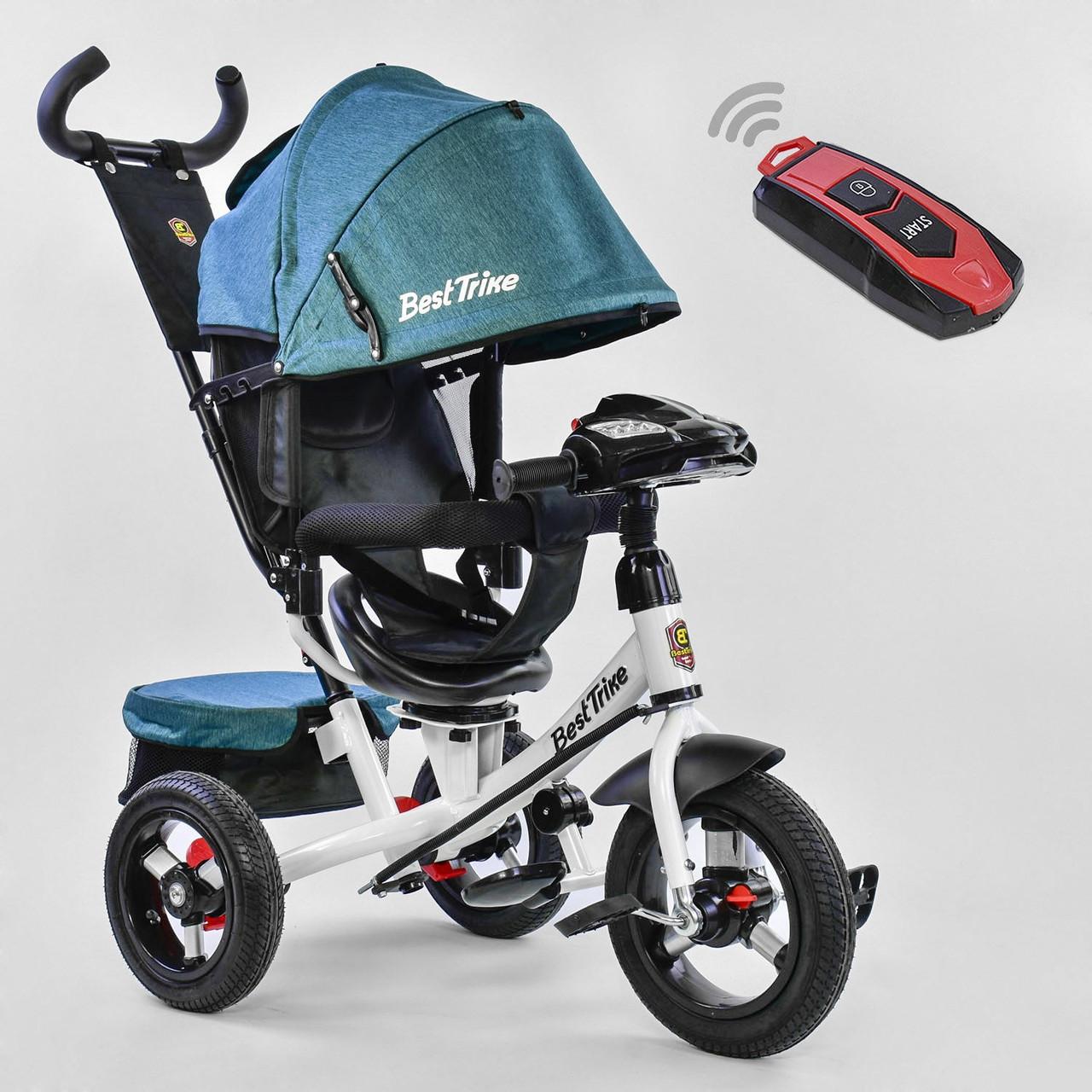 ⏩ Велосипед детский трехколесный Best Trike 7700В - 6980 изумрудный