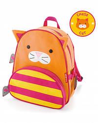 Детский рюкзак Skip Hop Zoo Pack (Zoo Little Kid Backpack) - Cat (Кот), 3+