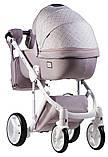 Универсальная детская коляска  2 в 1 Adamex Luciano jeans Q219, фото 3