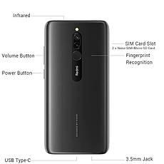 Xiaomi Redmi 8 Onyx Black 4GB/64GB + защитный чехол, фото 2