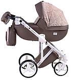 Универсальная детская коляска  2 в 1 Adamex Luciano jeans Q213, фото 2
