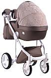 Универсальная детская коляска  2 в 1 Adamex Luciano jeans Q213, фото 3