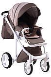Универсальная детская коляска  2 в 1 Adamex Luciano jeans Q213, фото 4