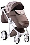 Универсальная детская коляска  2 в 1 Adamex Luciano jeans Q213, фото 5