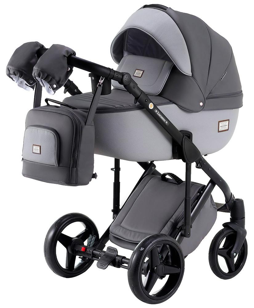 Универсальная детская коляска  2 в 1 Adamex Luciano Y202