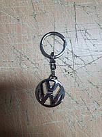 Автомобільний Брелок металевий для ключів фольксваген Volkswagen, Якість! Туреччина! Брелок для ключів авто