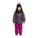 Зимний комплект для девочки NANO F19M296 Black / Petunia. Размеры 6 и 6Х., фото 2