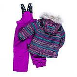 Зимний комплект для девочки NANO F19M296 Black / Petunia. Размеры 6 и 6Х., фото 3