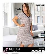 Рубашка женская большого размера  до 56