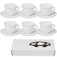 ✅ Набор чашек с блюдцами 12 пр. Кофейный набор SNT 30082-00