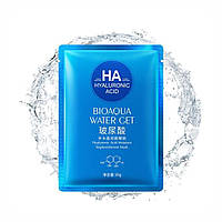 Тканиннамаска для обличчя Bioaqua HA Hyaluronic Acid Water Get