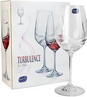 ✅ Набор бокалов для вина Bohemia Turbulence 350мл-2шт b40774