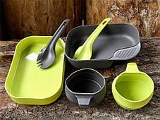 Набор посуды Wildo® CAMP-A-BOX® DUO Light Green - Sugarcane (ID 6201) темно зеленый, фото 3