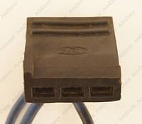 Разъем автомобильный 3-pin/контактный. Мама. 25×10 mm. Б.У